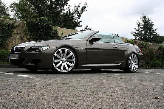 10,5x 21 Alufelgen Felgen 21 Zoll BMW 6er M6 Cabrio