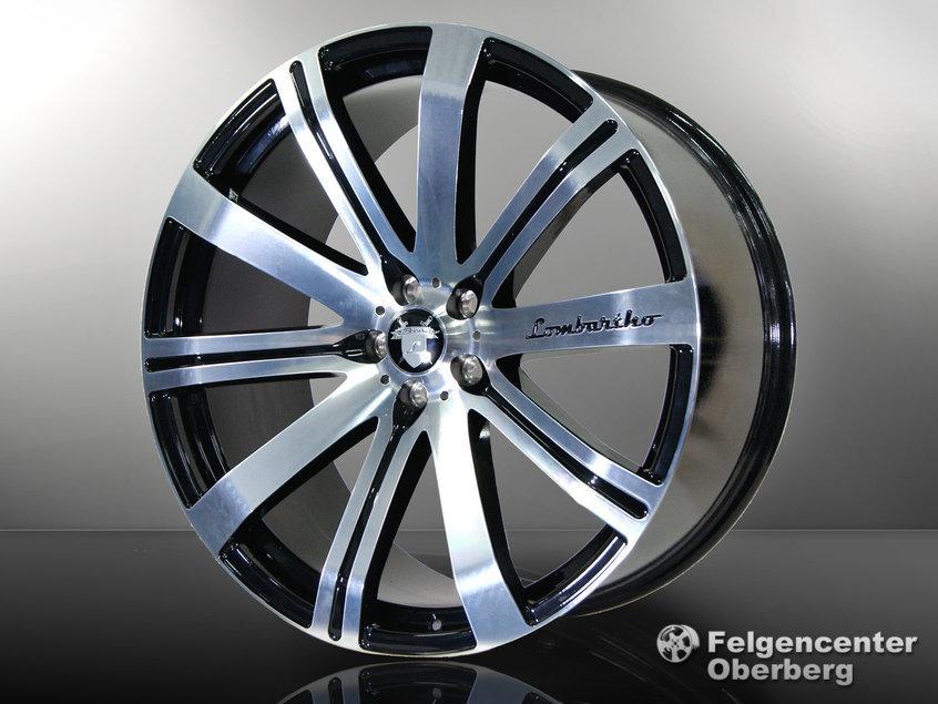 LXB Alufelgen 9+10,5x 21 Zoll BMW 6er Coupe Cabrio E63 E64 663C M6