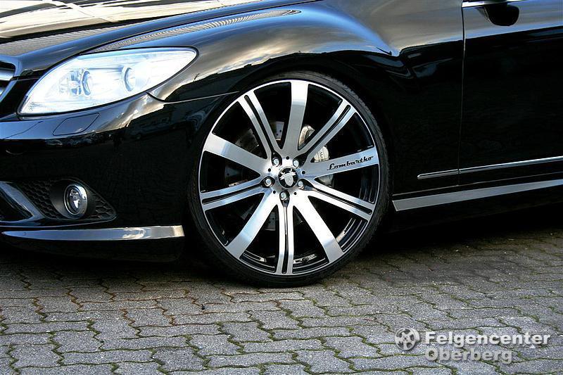 Lombartho LX Black 10x 22 Zoll Alufelgen Felgen Mercedes S Klasse W221