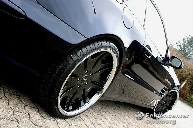 Disare Black 20 Zoll 20 Alufelgen Felgen Mercedes CLS W219 incl. AMG