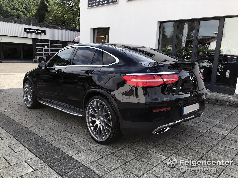 Mercedes G Tuning >> Alufelgen-NEWS: Mercedes GLC Coupe 10x22 Zoll Concave AP mit 265/35 R22