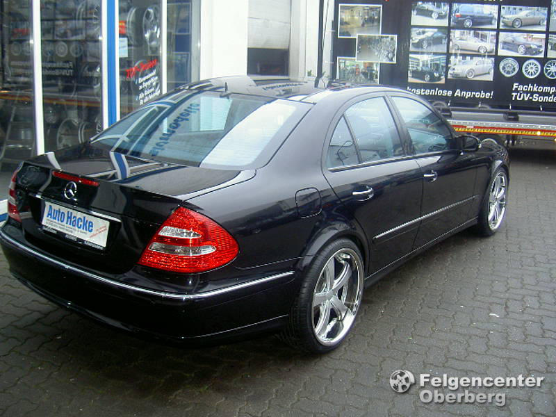 Mercedes G Tuning >> Alufelgen-NEWS: Mercedes E-Klasse W211 mit 20 Zoll