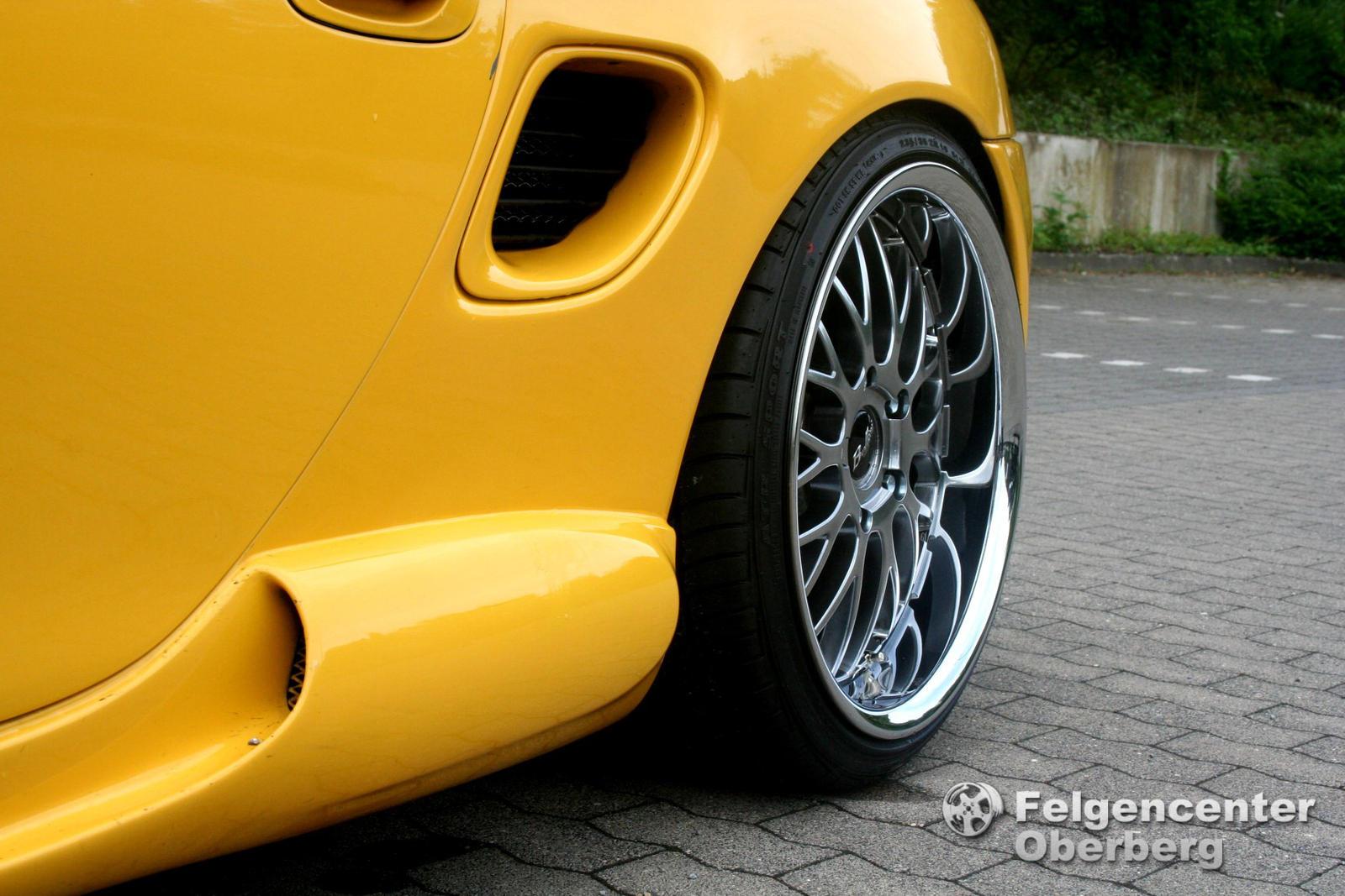 19 Zoll Alufelgen Felgen Porsche Boxster 987 3.4 Spyder 3,4L